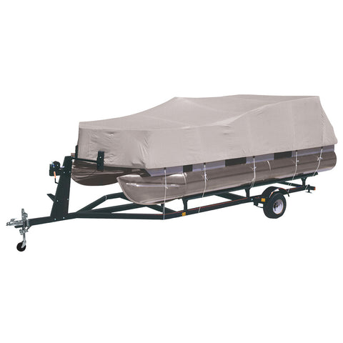 Dallas Manufacturing Co. 300 Denier Pontoon Cover - Model B - Fits 21'-24' w/Beam Width to 96""