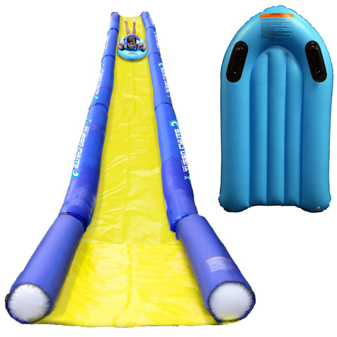 RAVE Turbo Chute™ Water Slide Lake Package w/Turbo Sled