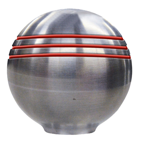 "Ongaro Throttle Knob - 1-⅞"" - Red Grooves"