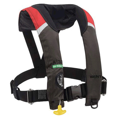 Kent A-33 Automatic Stole Insight Inflatable Vest - Red - Universal