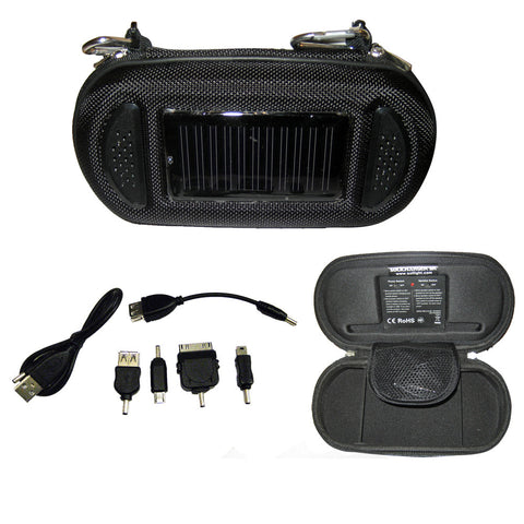Davis SoliCharger-SP - Universal Solar Charger w/Speakers