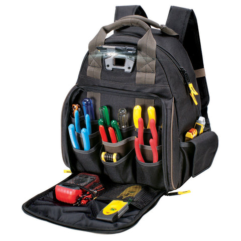 CLC L255 53 Pocket Tech Gear Lighted Backpack