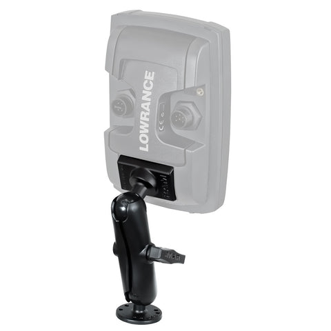 "Lowrance RAM 1"" Mark/Elite 4"" Series Quick Release Mount"