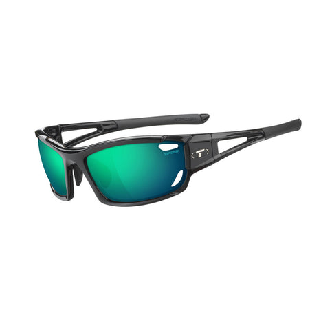 Tifosi Dolomite 2.0 Golf Interchangeable Sunglasses - Clarion Mirror Collection - Gloss Black