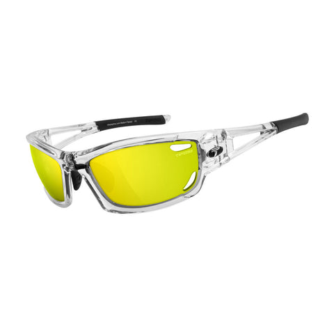 Tifosi Dolomite 2.0 Golf Interchangeable Sunglasses - Clarion Mirror Collection - Crystal Clear