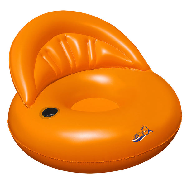 AIRHEAD Designer Series Floating Chair - Tangerine