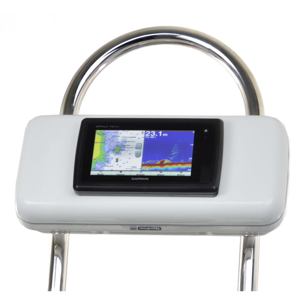 "NavPod GP2521 SystemPod Pre-Cut f/Garmin 7xx and 7x Series Mounted In Center f/12"" Wide Guard"