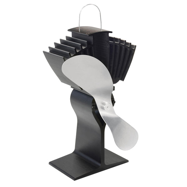 Caframo Ecofan Airmax 812AM Heat Powered Stove Fan - Nickel Blade