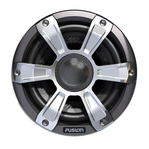"FUSION FL65SPC Signature Series Speakers - 6.5"", 230W Coaxial Sport - Grey/Chrome w/LED"