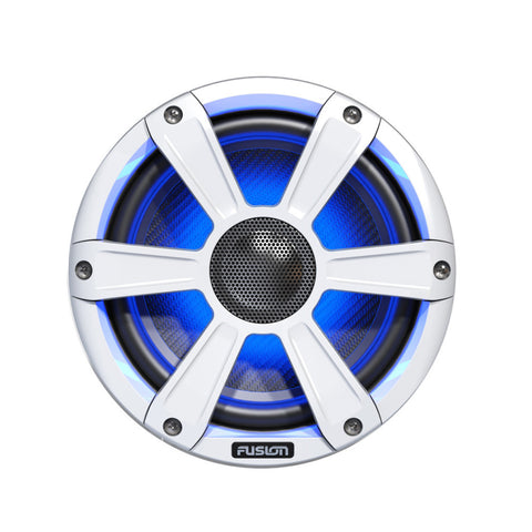 "FUSION FL77SPW Signature Series Speakers - 7.7"", 280W Coaxial Sport - White w/LED Illumination"