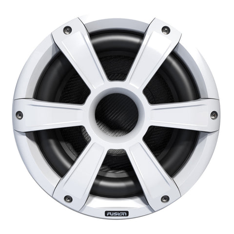 FUSION SL10SPW Signature Series Subwoofer - 450W - White w/LED Illumination