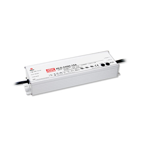 Bluefin LED 24VDC Power Supply - 240W - 110-240VAC Input