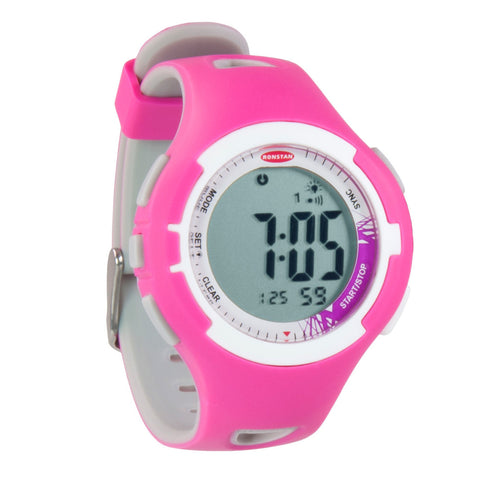 "Ronstan Clear Start™ Sailing Watch - 40mm (1-9/16"") - Pink/Grey"