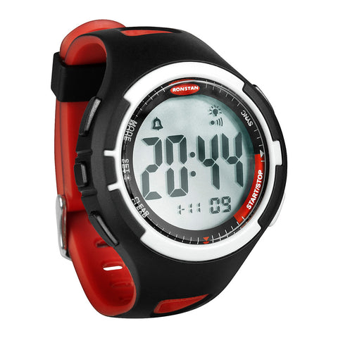 "Ronstan Clear Start™ Sailing Watch - 50mm (2"") - Black/Red"
