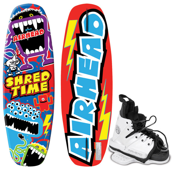 AIRHEAD Shred Time Wakeboard - 124cm w/JUICE Bindings