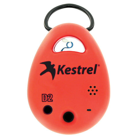 Kestrel DROP D2 Smart Humidity Data Logger - Red