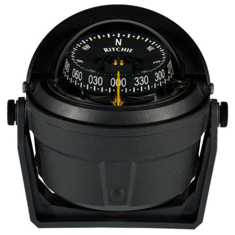 Ritchie B-81-WM Voyager Bracket Mount Compass - Wheelmark Approved f/Lifeboat & Rescue Boat Use
