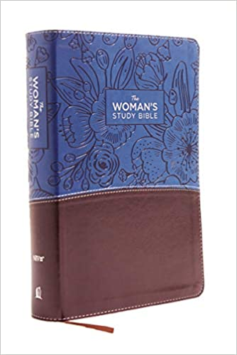 NIV, the Woman's Study Bible, Imitation Leather, Blue/Brown, - ChristianMetro