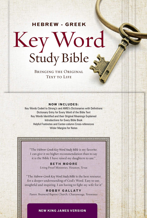 Hebrew-Greek Key Word Study Bible-NKJV - ChristianMetro