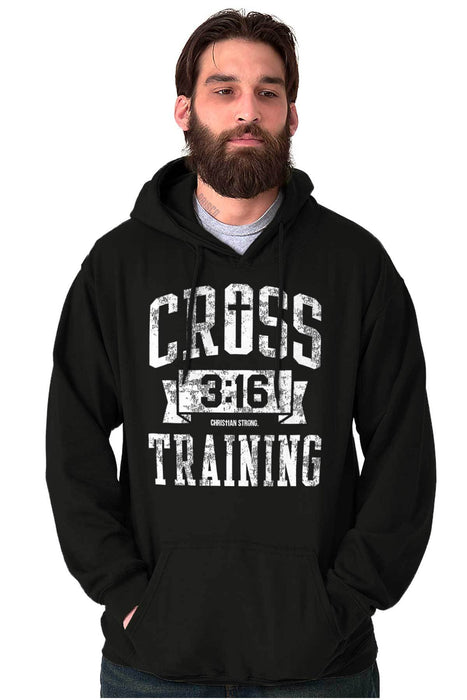 Cross Training Mens Jesus Hoodie