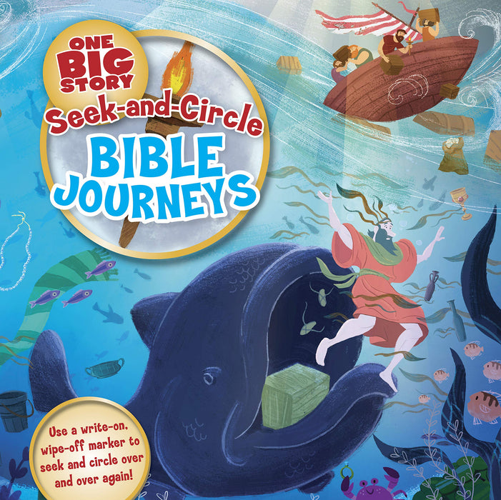 Seek-And-Circle Bible Journeys ( One Big Story )