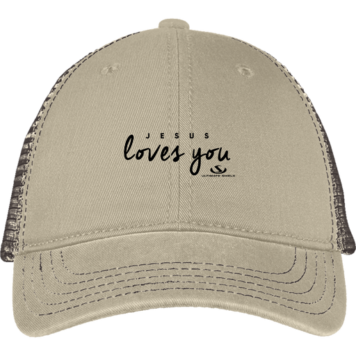 JESUS LOVES YOU Mesh Back Cap - ChristianMetro