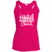I CAN DO ALL THINGS THROUGH CHRIST Ladies' Racerback Moisture Wicking Tank - ChristianMetro