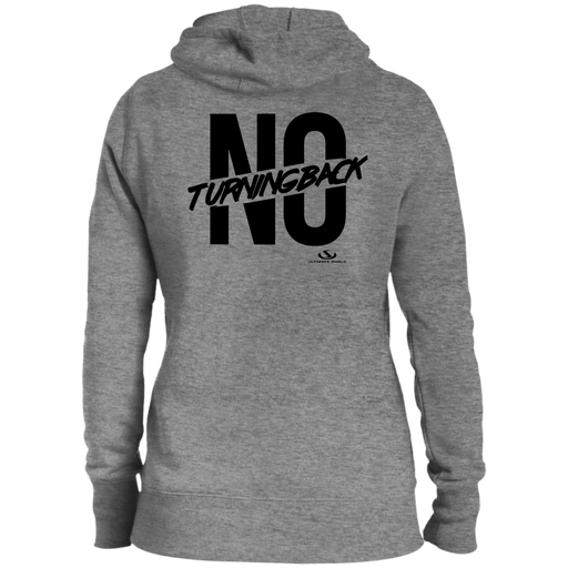 NO TURNING BACK Ladies' Pullover Hooded Sweatshirt - ChristianMetro