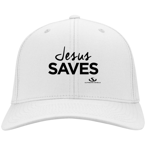 JESUS SAVES Twill Cap - ChristianMetro