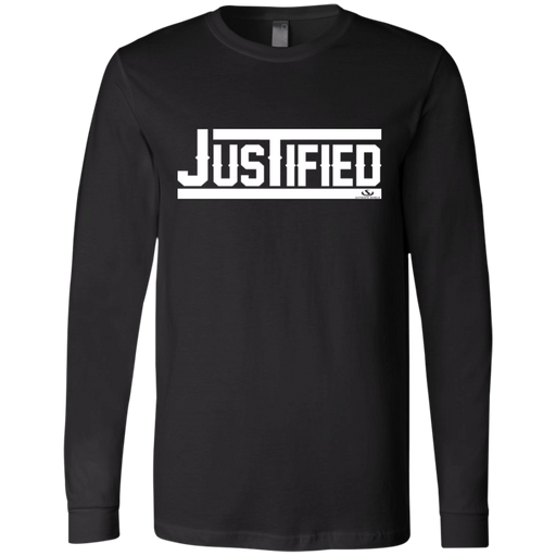 JUSTIFIED Men's Jersey LS T-Shirt - ChristianMetro