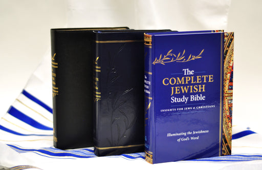 The Complete Jewish Study Bible: Illuminating the Jewishness of God's Word (Flexisoft, Blue) - ChristianMetro