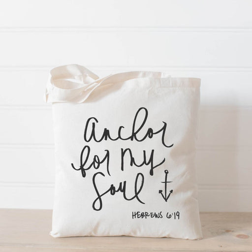 Tote Bag - Anchor For My Soul - ChristianMetro