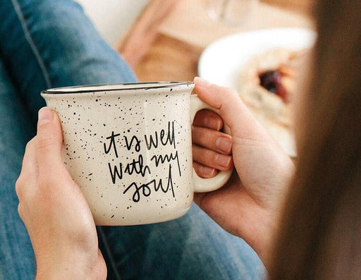 Coffee Mug - It is well with my soul - ChristianMetro