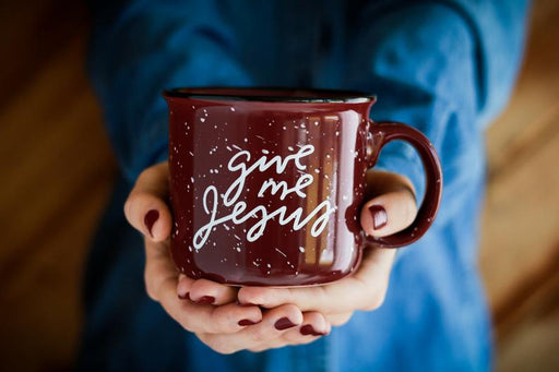 Coffee Mug | Give Me Jesus - ChristianMetro