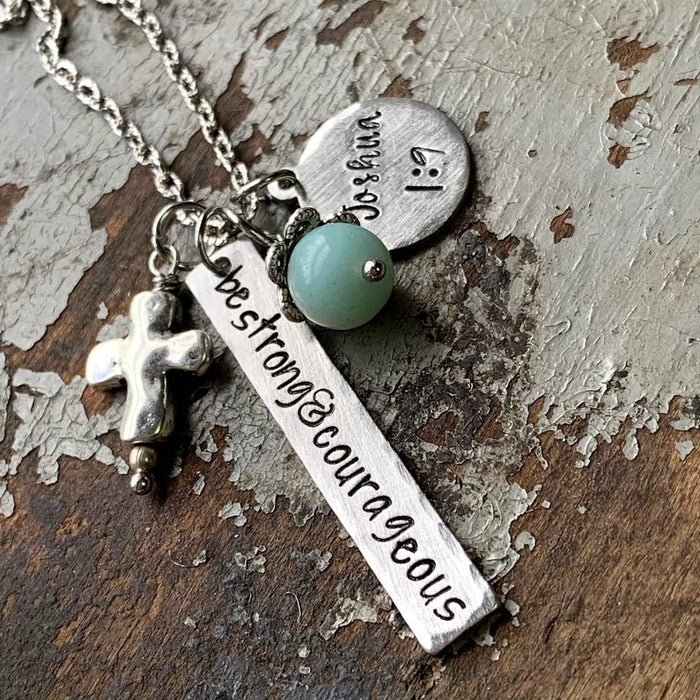Be Strong and Courageous Jewelry - Joshua 1:9