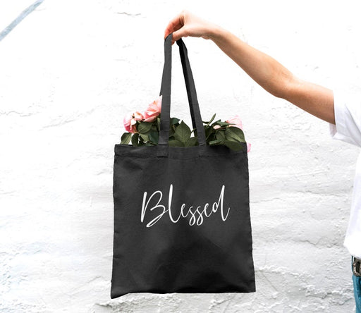 Blessed Tote Bag, Tote Bag, Christian Gift, Blessed Bag, Christian Tote Bag, Cotton Canvas Bag - ChristianMetro