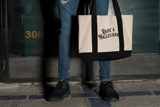 Raise a Hallelujah - Christian - Canvas Bag - ChristianMetro