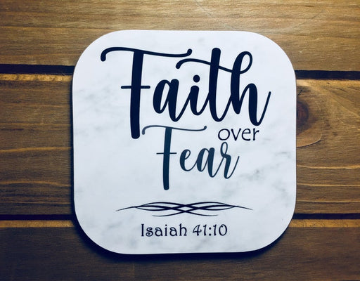 Coffee Mug - Faith over Fear - ChristianMetro