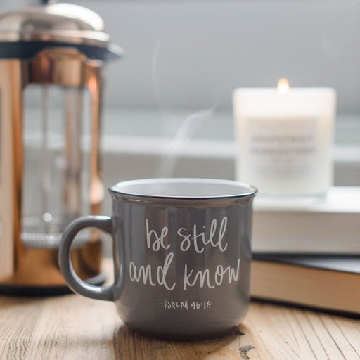 Coffee Mug - Be Still and Know | Psalm 46:10 - ChristianMetro