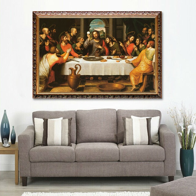 Jesus Christ on Canvas Poster - ChristianMetro