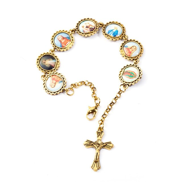 Keepsake Cross Bracelet
