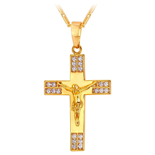 Cross Pendants Necklaces - ChristianMetro