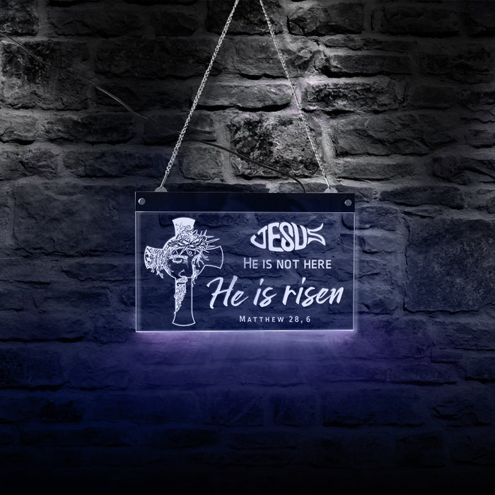 Hanging Sign Easter Quote - ChristianMetro