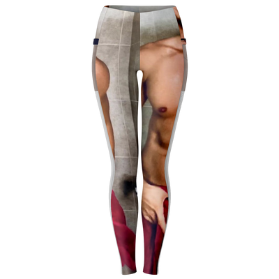 Island Boy Mesh Pocket Legging - Beet Cosmetics