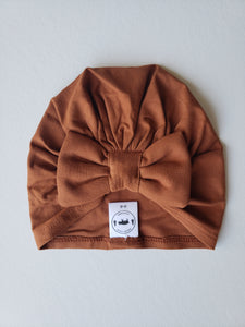 Bamboo Turban Bow Hat