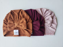 Load image into Gallery viewer, Bamboo Turban Bow Hat