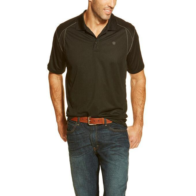 ARIAT AC POLO BLACK