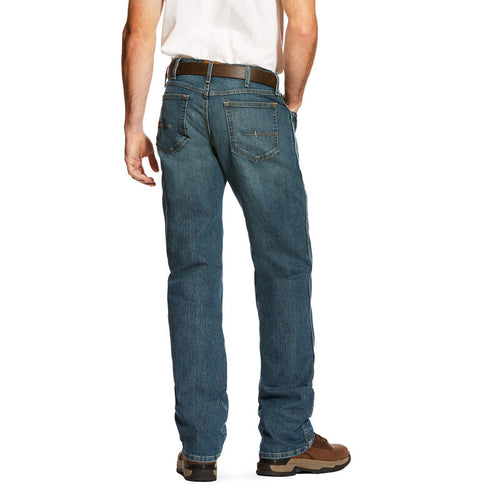 ARIAT REBAR M4 LOW RISE DURASTRETCH EDGE BOOT CUT JEAN
