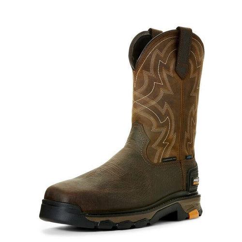 ARIAT INTREPID FORCE WATERPROOF COMPOSITE TOE WORK BOOT - Patton's