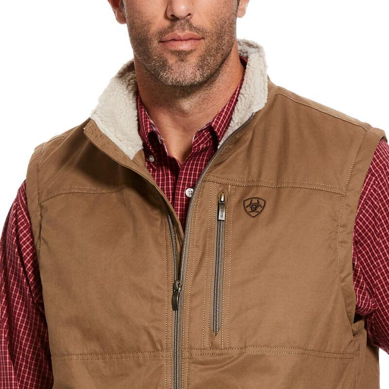 ARIAT GRIZZLY CANVAS VEST